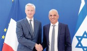 Bruno Le Maire meet Israeli Minister of Finance Moshe Kahlon