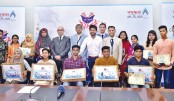 Bashundhara LP Gas gives reception to children of its distributors