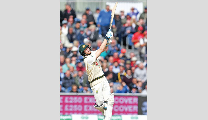 'Satisfied' Smith hits double century to turn on England