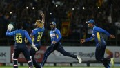 Malinga takes four wickets in four balls as Sri Lanka claim consolation win