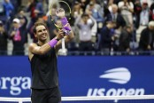Nadal advances to US Open final against Medvedev