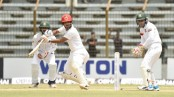 Afghanistan reach 156/4, swell lead to 293 runs against Bangladesh