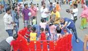 Children's day out on Manik  Mia Avenue
