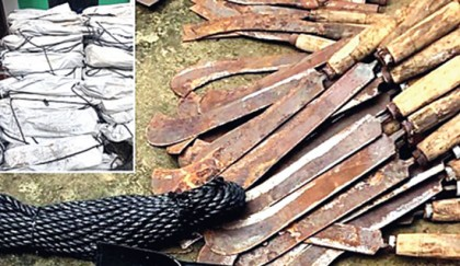 5,000 weapons seized from  NGO godown in Cox's Bazar