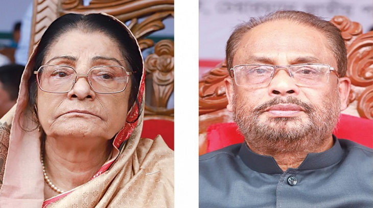 Quader party chief, Raushan leader of the opposition