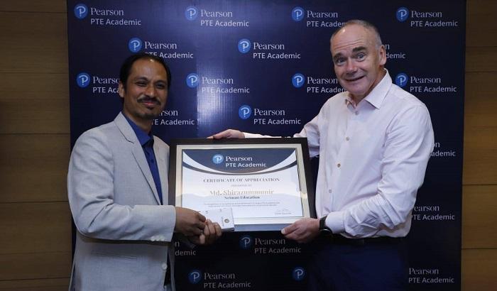 Pearson recognises Neiman the best preparation Centre