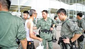 Riot police deployment thwarts HK airport protest