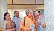 Jamdani Fest 2019 underway at Bengal Shilpalaya