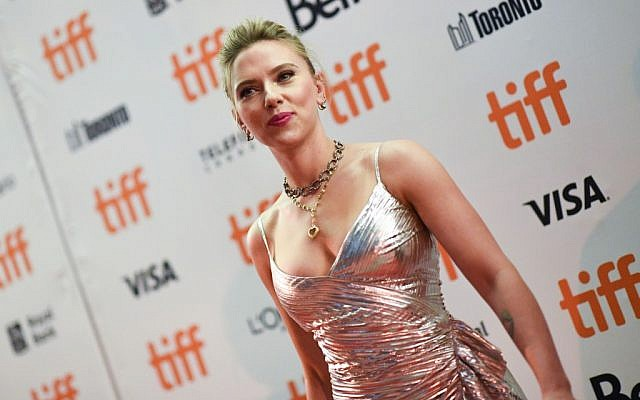 Scarlett Johansson unveils 'Jojo Rabbit', 'Marriage Story' in Toronto