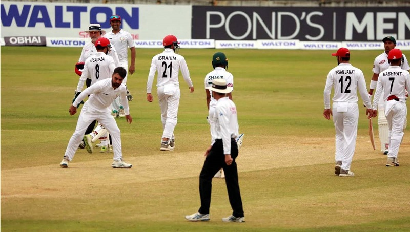 Afghanistan thrash Bangladesh to register second win in Test Cricket