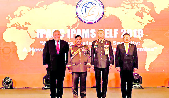 Army chief joined IPACC in Thailand
