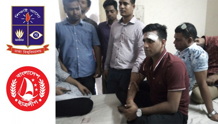 Two BCL vice presidents injured in factional clash at Madhur Canteen