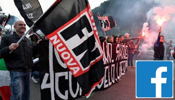 Facebook shuts Italian neo-fascist parties' accounts