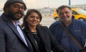 Rishi Kapoor returns from New York with Neetu Singh after cancer treatment