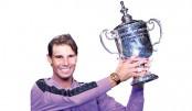 Nadal wins 19th Grand Slam title