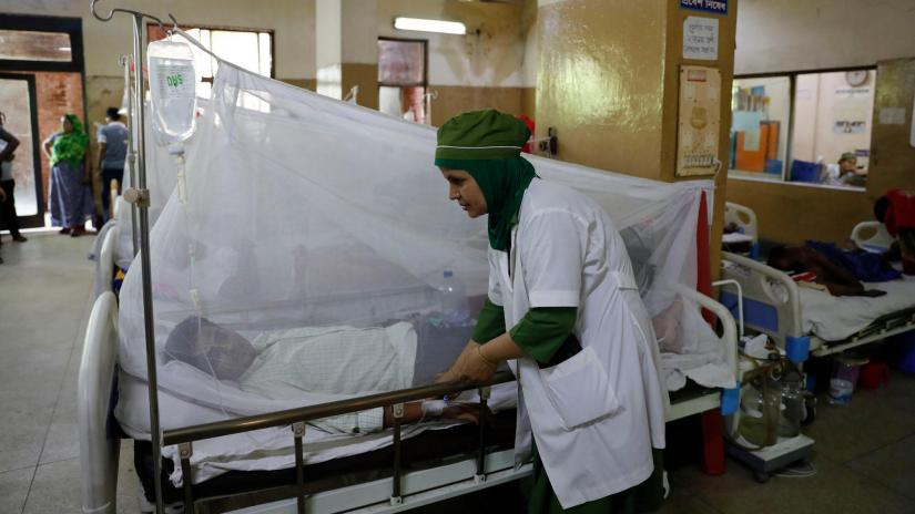 3,165 dengue patients undergoing treatment in country