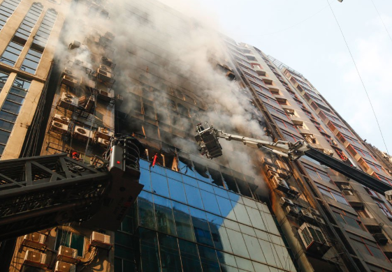 Probe report in case over FR Tower fire Oct 13