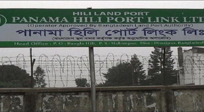 Import-export resumes at Hili port