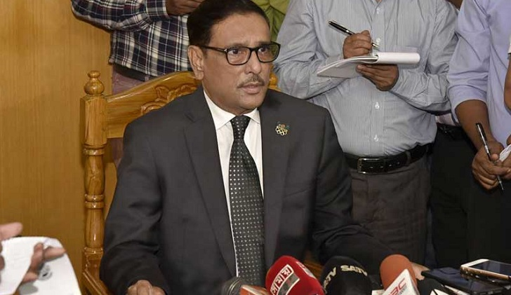No chance of backtracking from toll on highways: Obaidul Quader