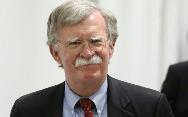 John Bolton, warrior in White House, goes out swinging