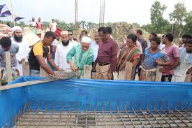 Construction works of Sheikh Russell Model School begin at RU