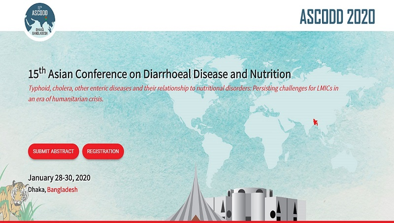 Asian Conf on Diarrhoeal Disease & Nutrition to be held in Dhaka next yr