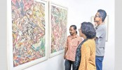 'Secretive Works of an Outsider' underway at Kalakendra