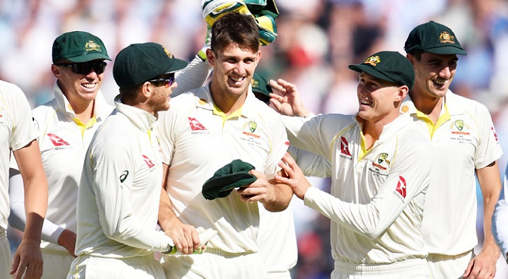 Australia dismiss England for 294 in 5th Ashes Test