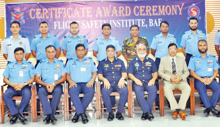 BAF certificate award ceremony held