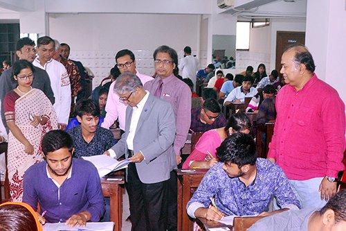 DU Ga unit admission test held