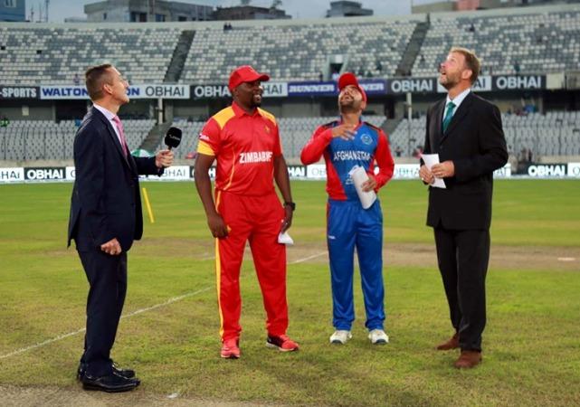 Zimbabwe win toss, send Afghanistan to bat first