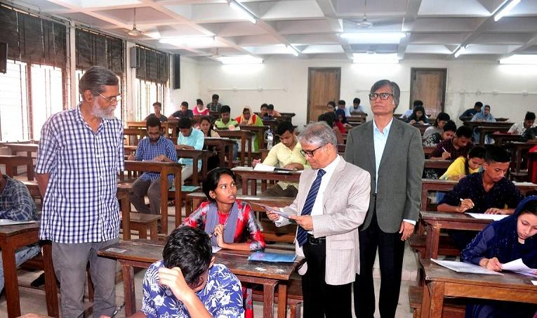 DU 'Cha unit' admission test held