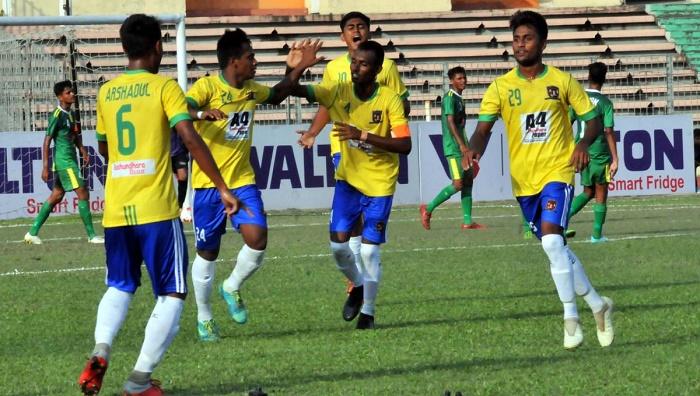 U-18 Football: Sheikh Jamal DC crush Rahmatgonj MFS by 5-0 goals