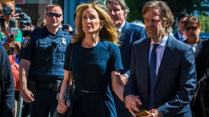 US actress handed jail over college admissions scandal