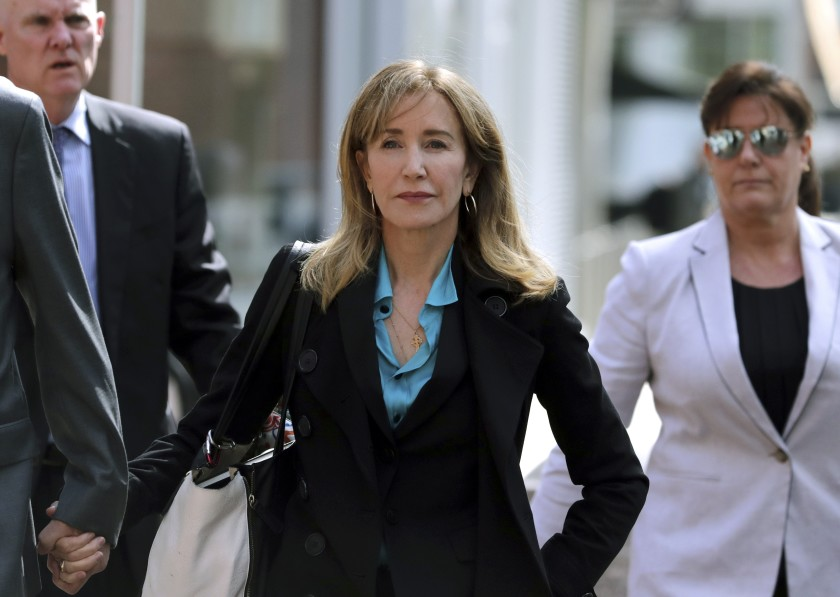 Actress Huffman gets 2 weeks jail in US college admissions scandal