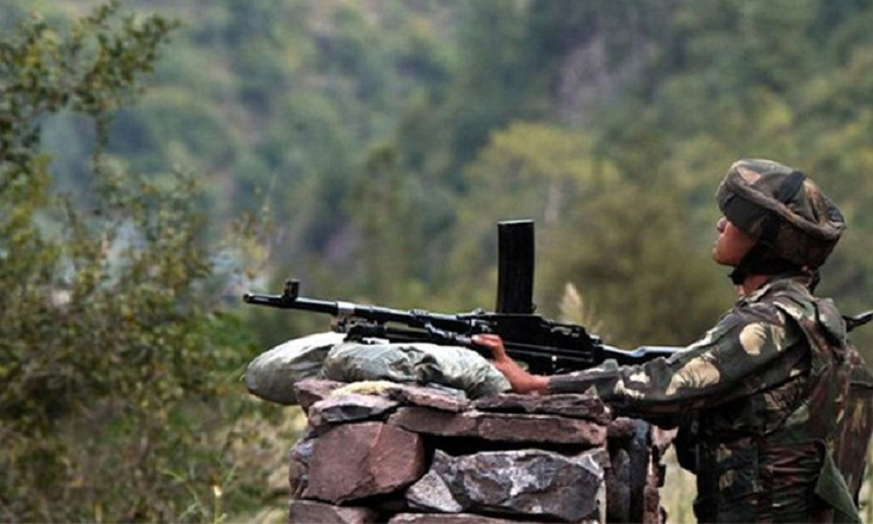 Pakistan says Indian fire kills 1 soldier, woman in Kashmir