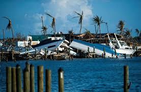 Tropical Storm Humberto dumps rain on hurricane-hit Bahamas