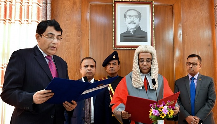Ex-senior secretary Golam Faruk takes oath as new PSC member