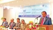 Installation ceremony of Rotary Club of Dhaka Cosmopolitan held