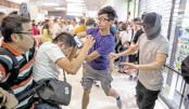Mall brawls, street fights as HK polarisation deepens