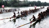 Sultan Festival ends with boat race in Narail