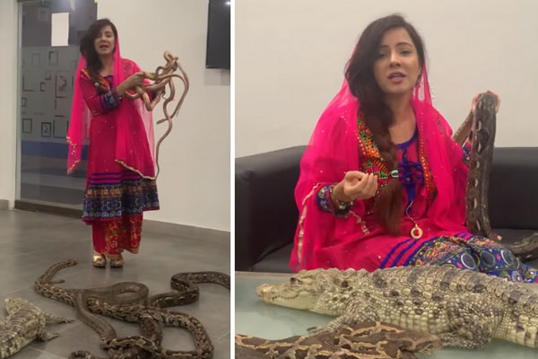 Pakistani pop singer threatens Modi with python, faces jail