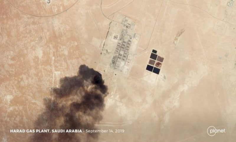 Saudi oil attacks: US says intelligence shows Iran involved