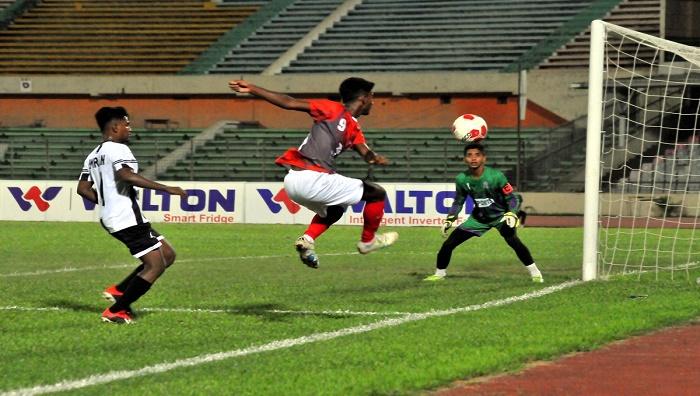U-18 Football: Bashundhara Kings outplay Mohammedan SC 3-0