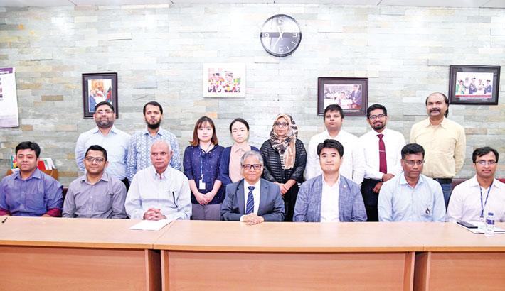 KOICA team visits DU VC