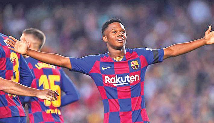 Ansu Fati Shines as Barcelona Beat Valencia