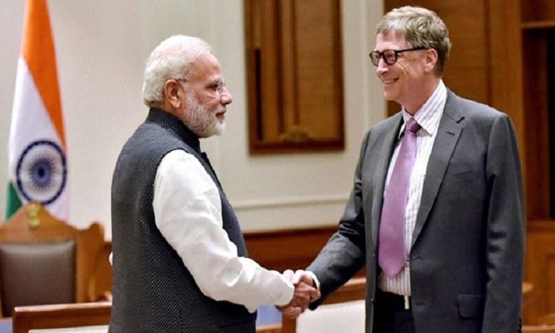 Bill Gates to honour India's Modi despite Kashmir concerns