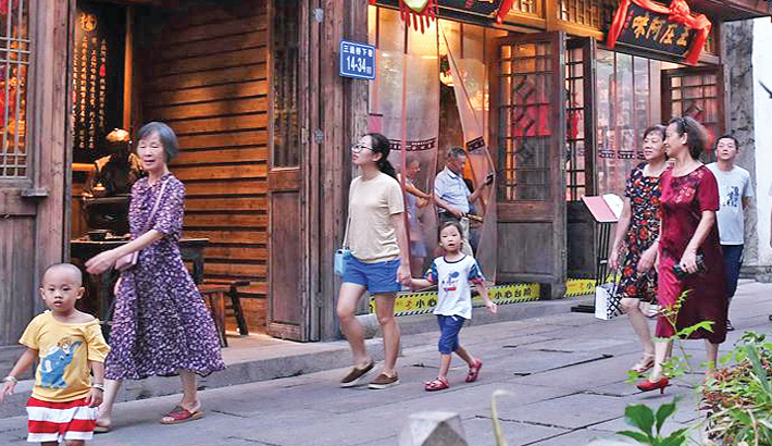China sees 105mn tourists during Mid-Autumn Festival holiday