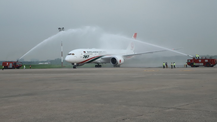Prime Minister Sheikh Hasina to inaugurate Dreamliner 'Rajhangsha' this afternoon