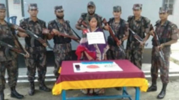 Female drug peddler held with Yaba pills in Jamalpur